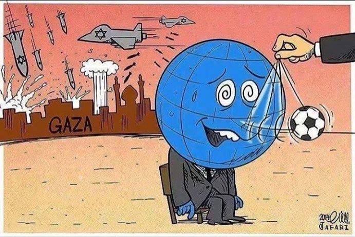 Gaza vs Football